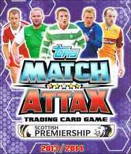 Match Attax SPL Scottish Premiership 2013/2014 13/14: DUNDEE UNITED BASE CARDS