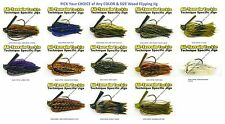 All Terrain Tackle Jigs - A.T. Rattling Wood Flipping - Choice of Color and Size