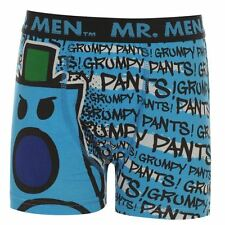 Character Kids Boys Mr Men Single Boxer Shorts Casual Printed Underwear Junior