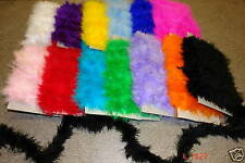 marabou trimming available in more than 10 colours