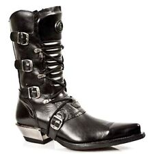 New Rock Boots Mens Style 7993 S1 Black