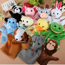 Zoo Animal Hand Sock Glove Puppet Finger Sack Plush Toys Dolls For Baby Child