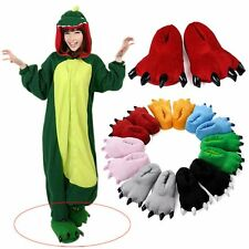 Adulte Unisexe animaux Cartoon Cosplay Pyjamas chaussons Paw Claw Chaussures