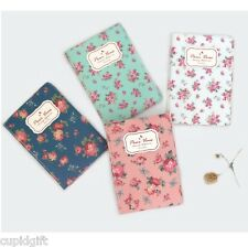 Pour Vous Blooming Passport Holder Case Cover Ticket Card ID Cute Wallet Travel