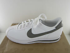 Nike Cortez Mens White Gray Leather Casual Shoes - NWD*- Size 13 M  NO BOX
