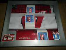 NIP NCAA WISCONSIN BADGERS 3 PIECE SLEEPWEAR BED SET YOUTH GIFT SET