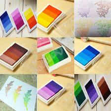 All-purpose DIY Colorbox Mini Cube Ink Stamp Pad Gradient Inkpad Rubber Stamp