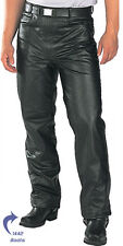 Classic Fitted (biker motorcycle or Casual) Men's Leather Pants