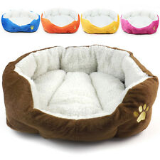 New Warm Soft Dog Cat Pet Puppy Soft Bed Plush Cushion House Nest Cozy Mat Pad