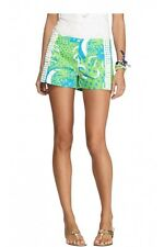 New Lilly Pulitzer LIZA SHORT 0 / 2 / 4 / 6 / 8 / 10 Limeade Roar of the Jungle