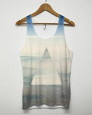 Mountain Triangle All Over Vest Tank Top Indie Hipster Men Women Mirror Fashion