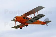Poster / Leinwandbild De Havilland DH 83 Fox Moth Biplane - David Wall