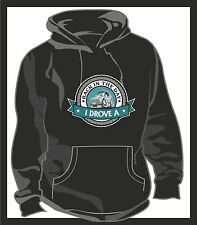 KOOLART BACK IN THE DAY I DROVE A Ford Capri 2.8i Unisex Hooded Top Hoodie Blk