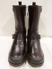 New Box UGG Australia Mens St Brown Randall Leather Boots 9 9.5 10 10.5 11 11.5