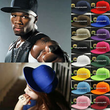 New Men's Adjustable Wide-Brim Snap-Back Hat With Flat Golf Surf Snow Hat Cap