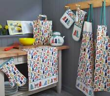Ulster Weavers Catwalk Cats Apron, Oven Glove, Tea Towel, Placemats or Coasters