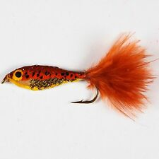 Epoxy Baitfish Trout Fly Fishing Flies lures streamers Size 10 by Dragonflies