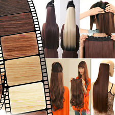 Sexy Long New Half Full Head Clip In Hair Extension Extensions Synthetic As Real