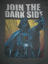 Star Wars T-Shirt Darth Vader Join The Dark Side Retro 70's 80's Tee Movie Dvd