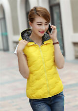 2014 winter hooded vest women short thin cotton candy-colored waistcoat jacket