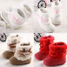 NEW Gift Anti-Slip for Winter Baby girls Infant Toddler Shoes Boots 0-18 Months