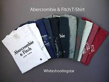 NWT ABERCROMBIE & FITCH ANF MENS Graphic Logo Muscle Fit Tee T-Shirt S,M,L,XL