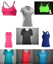 Womens Under Armour Victory Tank Tops, Training Bras, & V-Neck Shirts