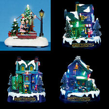 Christmas Decoration LED Light up Battery Operated LIT VILLAGE Houses Ornaments