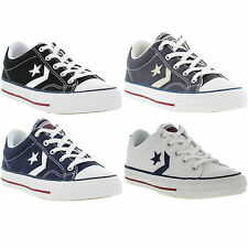 New Converse All STAR PLAYER OXFORD 14 Canvas Lace Up Trainers Size UK 4-13