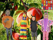 Giant Peach fancy dress BNWT 3-7yrs Spider Insect Costume + FREE Roald Dahl book