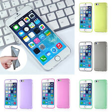 Hot THIN Shockproof Clear Silicone Soft Cover Case For Apple iPhone 6 /Plus New