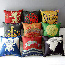 Magic Series Sofa Pillow Case Throw Cushion Cover Home Decor - Game of Thrones