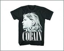 KURT COBAIN NIRVANA SIDE VIEW T-SHIRT NEW !