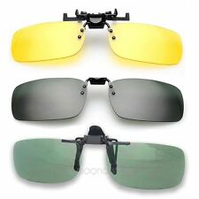 New Fashion Clip-on Flip-up Lens Sunglasses Sport Driving Glasses Night Vision