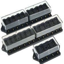 Deluxe Car Accessory Waterproof Vehicle Truck 4 10 12 Way Blade Fuse Box Holder