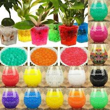 Magic Jelly Crystal Mud Soil Water Bead Pearl Gel Beads Balls Flower Plant Decor