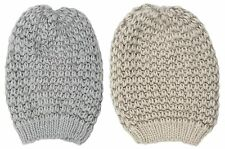 Tom Franks Ladies Slouch Knitted Beanie Hat One Size