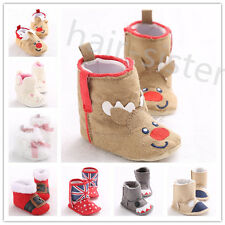 NEW Gift Anti-Slip for Winter Baby girls Newborn Toddler Shoes Boots 0-18 Months