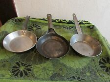 YOUR CHOICE OF VINTAGE STOVE TOP, CAMPING FRYING/ SAUTE PANS. COOL PANS