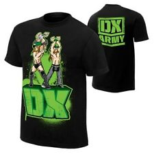 DX Re-Enlist D-Generation X WWE Authentic Mens Black T-shirt