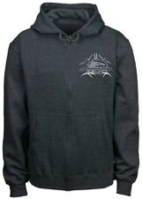Harley-Davidson Men's Screamin' Eagle Full Zip Hoodie Sweatshirt HARLMS0051