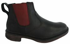 Timberland Earthkeepers Mens Chelsea Ankle Boots Black Leather Slip On 5857R D68