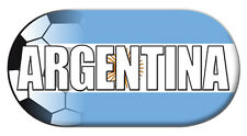 NEW Printed T-SHIRT Soccer Quality ARGENTINA FOOTBALL, All Sizes All Colours
