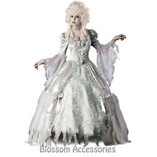 CL63 Corpse Countess Victorian Ghost Zombie Bride Halloween Womens Costume