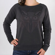 Bench Oakfield Sweat Dark Grey Damen Pullover Sweatshirts Grau