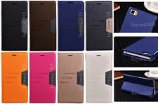 Hot PU Leather PC Magnetic Flip Card Slot Stand Wallet Case Cover For XIAOMI MI3