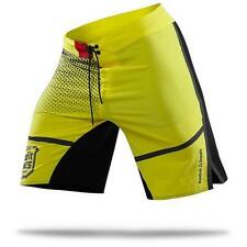 Mens Reebok CrossFit 2014 Games Recycled Polyester Shorts Yellow Black