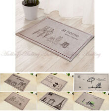 Home Living Room Doorway Bathroom Kitchen Floor Area Mat Decor Cloth Rug Carpet