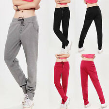 New Women Casual Sport Dance Harem Slacks Sweat Pants Jogging Skinny Trousers