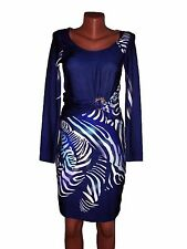 N.W.T. Roberto Cavalli autumn winter women's wool dress size  38